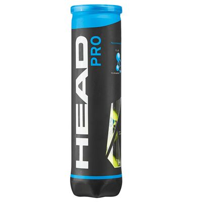 Head Pro Tennis Balls - Tube of 4 - Tube