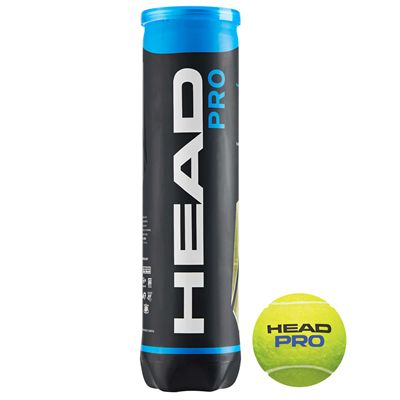Head Pro Tennis Balls - Tube of 4