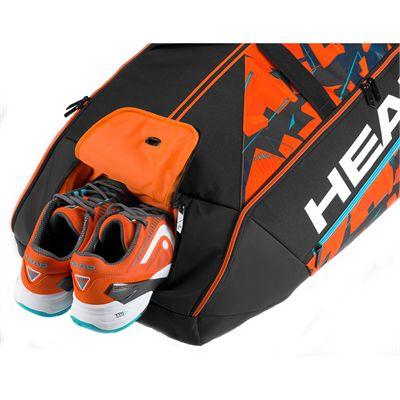 Head Radical Monstercombi 12 Racket Bag-shoe