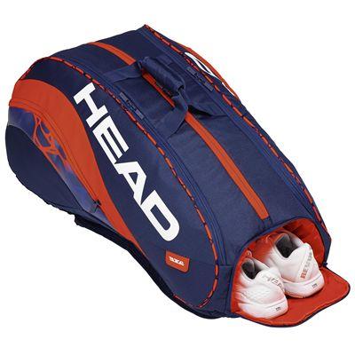 Head Radical Monstercombi 12 Racket Bag - In Use