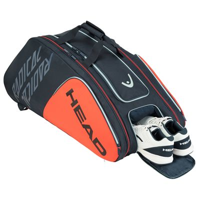 Head Radical Monstercombi 12 Racket Bag SS20 - Shoes Compartment
