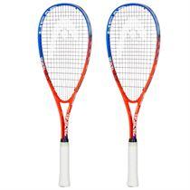 Head Radical Ti. Junior Squash Racket Double Pack