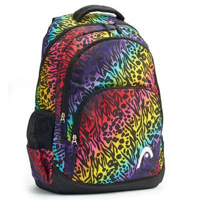 Head Rainbow Backpack