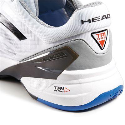 Head Revolt Pro Mens Tennis Shoes-Blue-White-Back