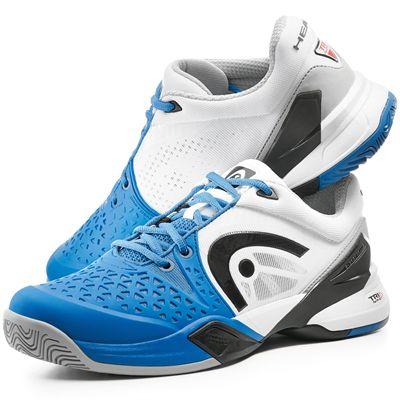 Head Revolt Pro Mens Tennis Shoes-Blue-White-Front/Side