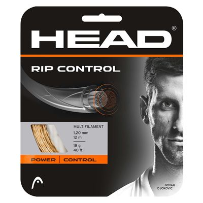 Head RIP Control 1.30mm Tennis String Set - Neutral