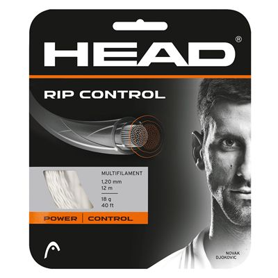 Head RIP Control 1.30mm Tennis String Set - White