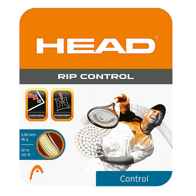 Head RIP Control 1.30mm Tennis String Set  Natural
