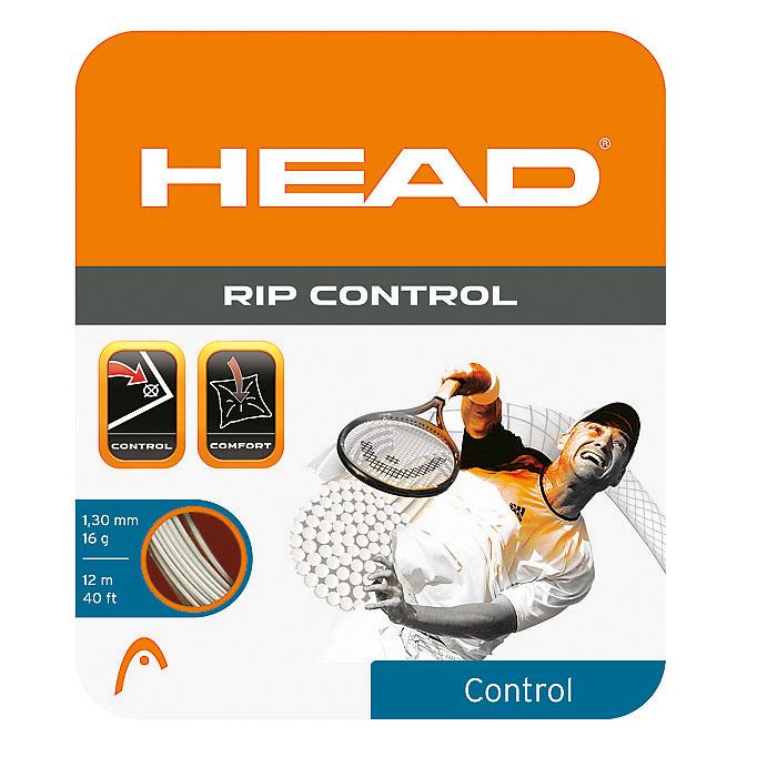 Head RIP Control 1.30mm Tennis String Set  White