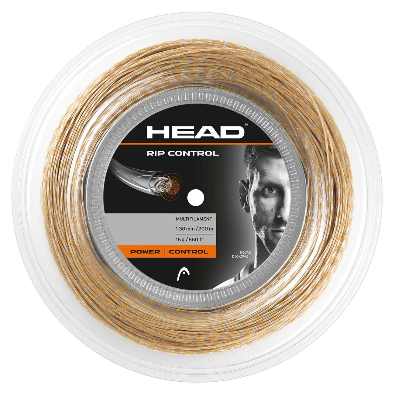 Racket Sports Head Rip Control 16 String 200m