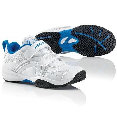 Head Sensor Court Velcro Junior Tennis Shoes