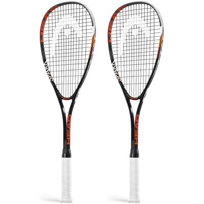 Head Spark Edge Squash Racket Double Pack