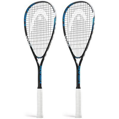 Head Spark Elite Squash Racket Double Pack
