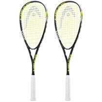 Head Spark Pro Squash Racket Double Pack