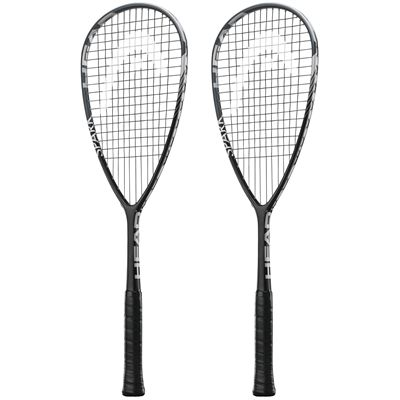 Head Spark Tour Squash Racket Double Pack