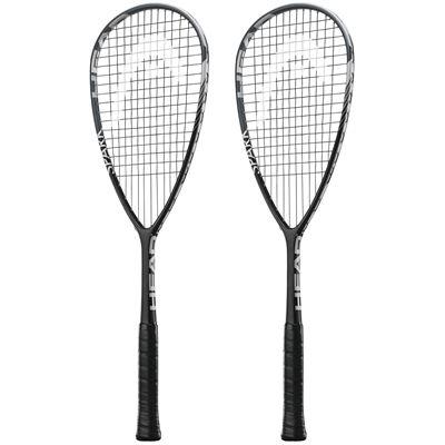 Head Spark Tour Squash Racket Double Pack