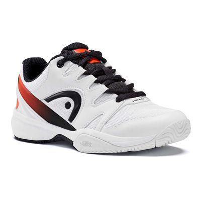 Head Sprint 2.0 Junior Tennis Shoes - White - Slant