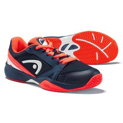 Head Sprint 2.5 Junior Tennis Shoes - Orange Main