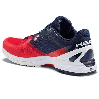 Head Sprint Pro 2.0 Mens Tennis Shoes - Back