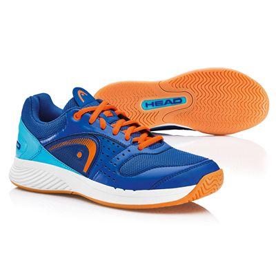 Head Sprint Team Mens Indoor Court Shoes - Blue