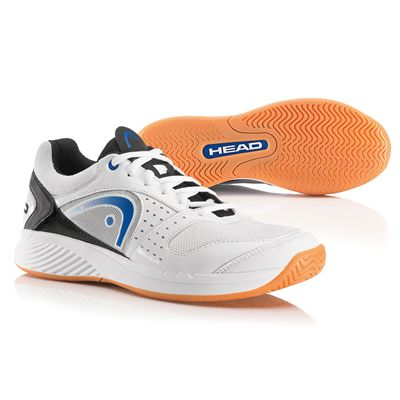 Head Sprint Team Mens Indoor Court Shoes - White