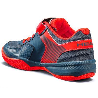 Head Sprint Velcro 3.0 Kids Tennis Shoes - Slant