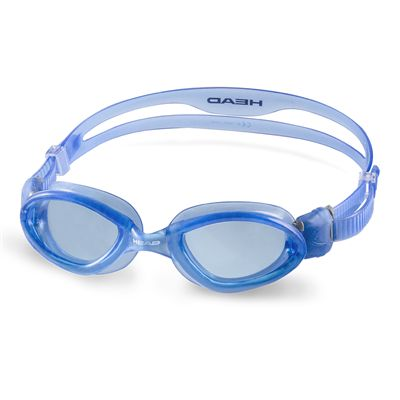Head Superflex Mid Junior Swimming Goggles - Blue Frame Blue Lenses