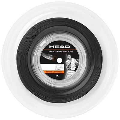 Head Synthetic Gut PPS Tennis String Reel - Black