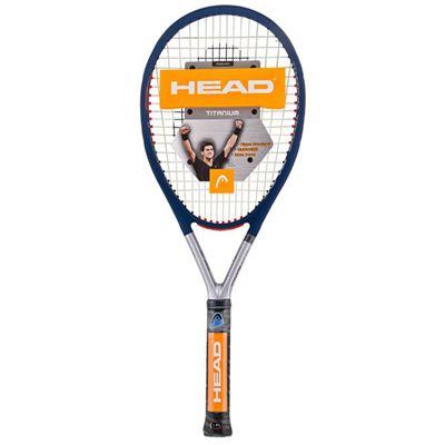 Head Ti S5 Titanium Tennis Racket Double Pack - Front
