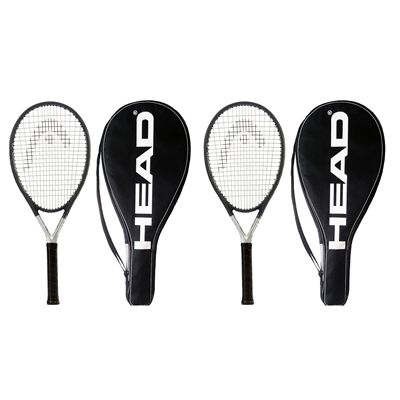 Head Ti S6 Titanium Tennis Racket Dual Pack - Cover