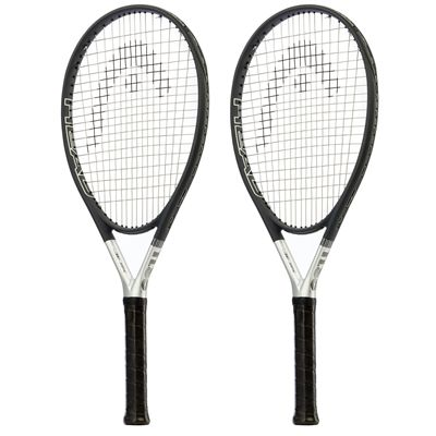 Head Ti S6 Titanium Tennis Racket Dual Pack - Slant