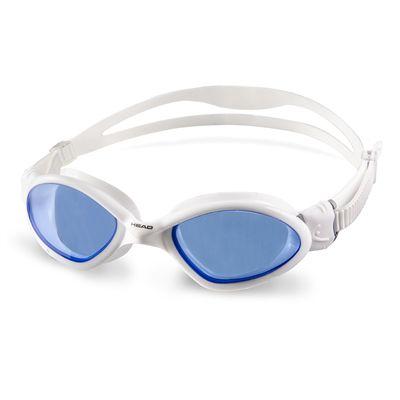Head Tiger Mid Swimming Goggles - White/Blue