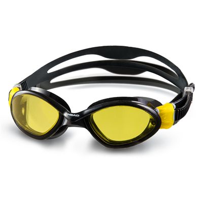 Head Tiger Mid Swimming Goggles - Black/Yellow