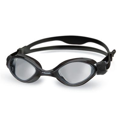 Head Tiger Mid Swimming Goggles - Black/Smoke