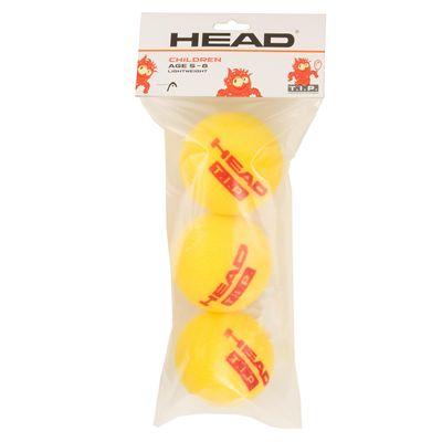 Head TIP Foam Lightweight Mini Tennis Balls - Pack of 3