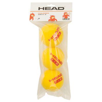 Head TIP Foam Mini Tennis Balls - Pack of 3