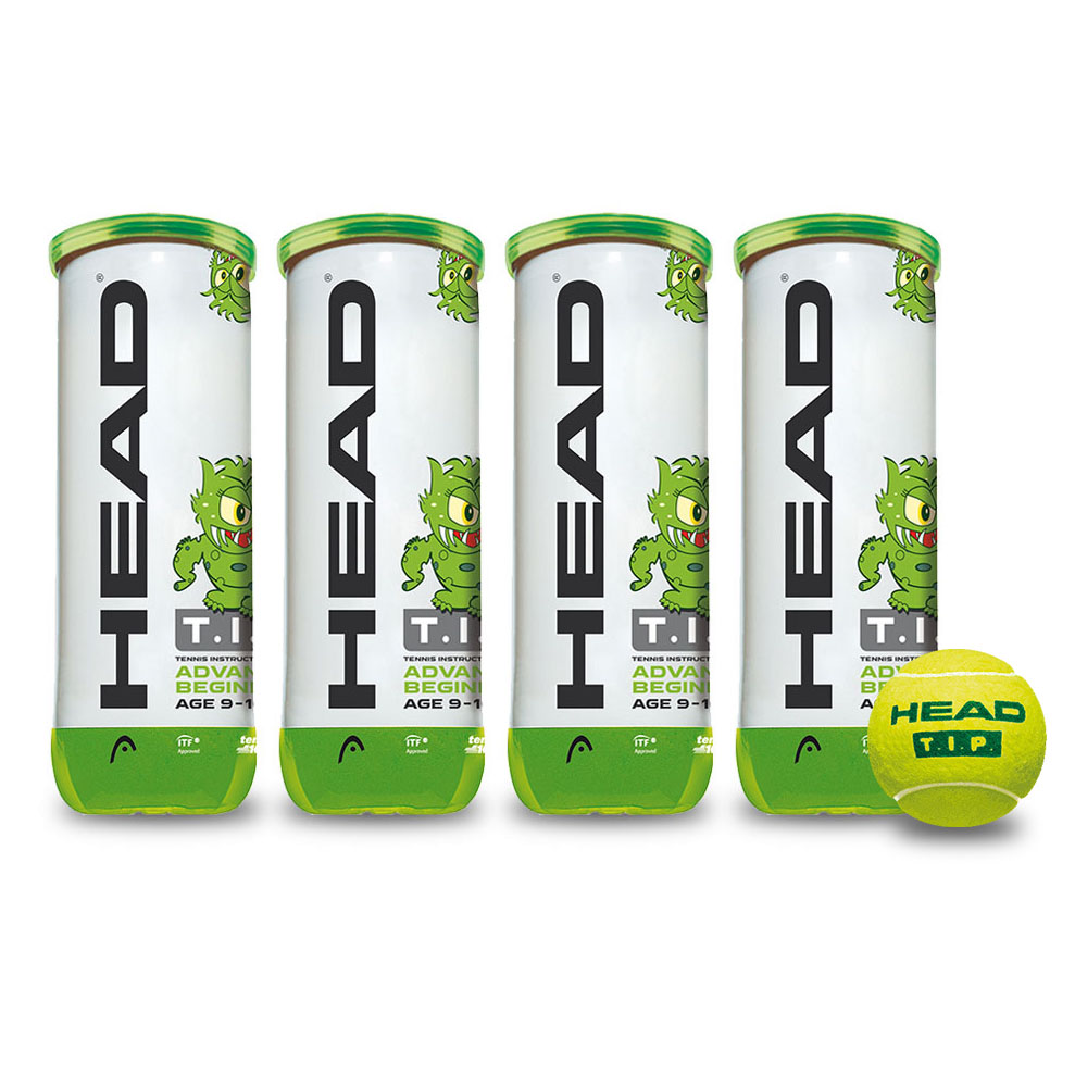 Head TIP Green Mini Tennis Balls  1 Dozen