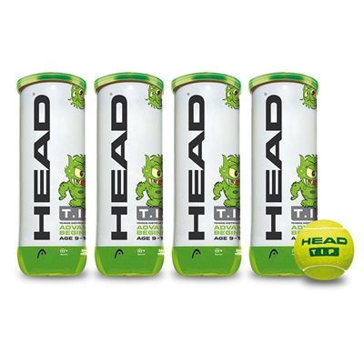 Head TIP Green Mini Tennis Balls - 1 Dozen