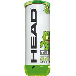 Head TIP Green Mini Tennis Balls - Tube of 3