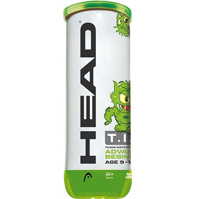Head TIP Green Mini Tennis Balls - Tube of 3