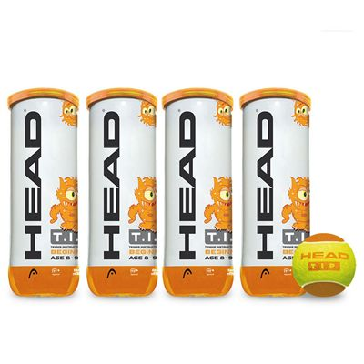 Head TIP Orange Mini Tennis Balls - 1 Dozen