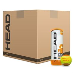 Head TIP Orange Mini Tennis Balls - 5 Dozen