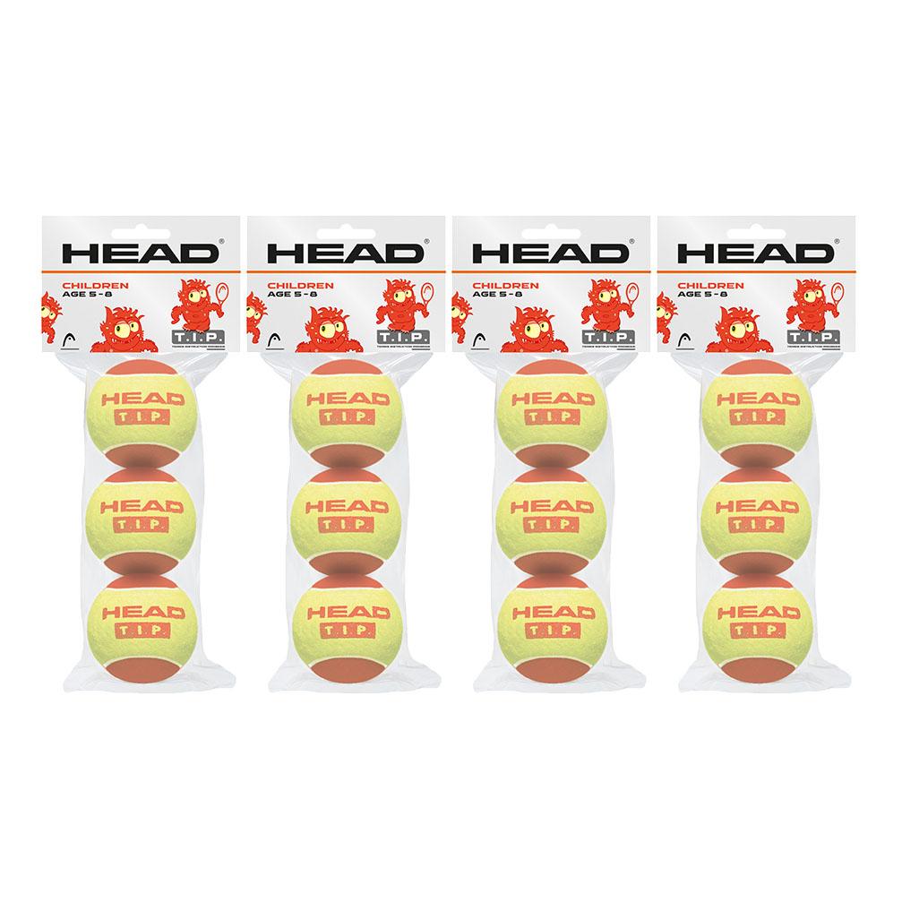 Head TIP Red Mini Tennis Balls  1 Dozen