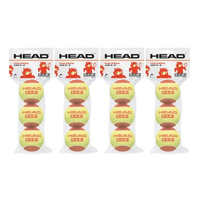 Head TIP Red Mini Tennis Balls - 1 Dozen