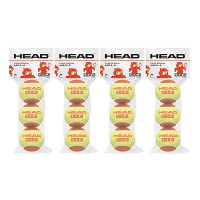Head TIP Red Mini Tennis Balls - 1 Dozen