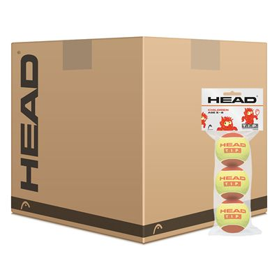 Head TIP Red Mini Tennis Balls - 5 Dozen