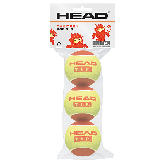 Head TIP Red Mini Tennis Balls  Pack of 3