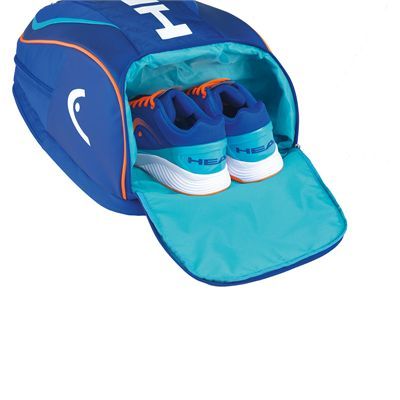 Head Tour Team Backpack-Blue-Shoe Compartment