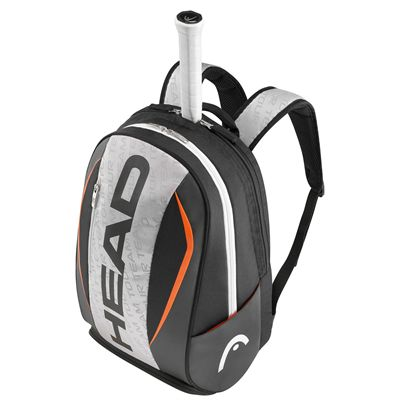 Head Tour Team Backpack-Silver and Black