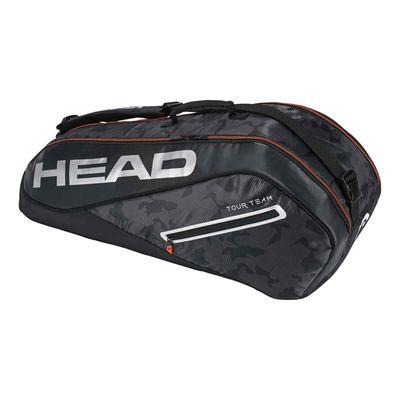 Head Tour Team Combi 6 Racket Bag AW17 - Black/Silver